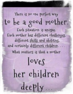 mother loves children