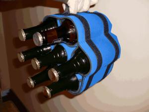 stubby strip blue