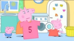 I've had the white shirts turn into pink ones too Peppa!  Image credit