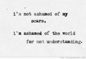 scars self harm