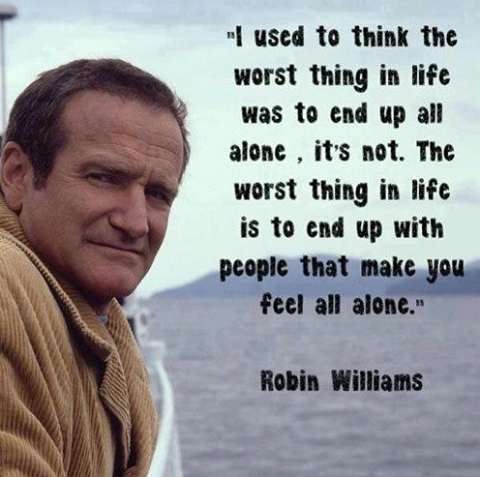 suicide, robin williams