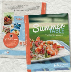 Summer Table book Christmas Gift