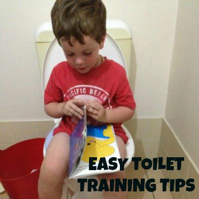 Easy toilet training tips